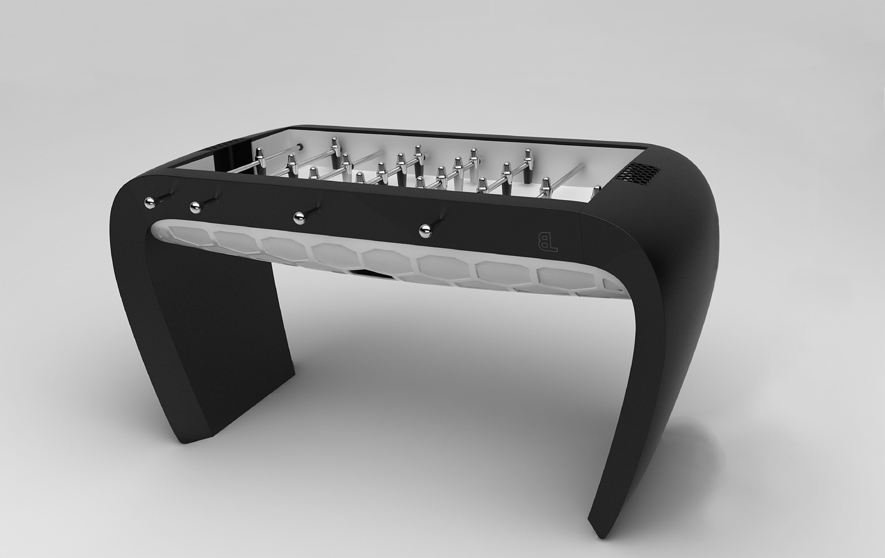 Blackball Foosball Table - Debuchy by Toulet