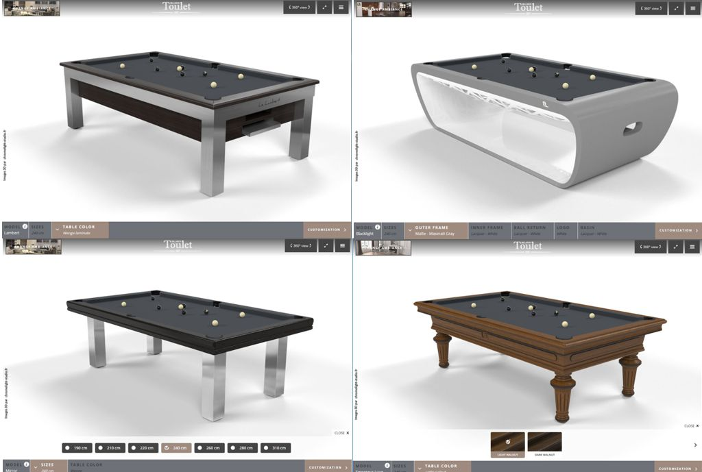 design your own pool table quantum play